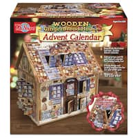 T.S. Shure Gingerbread Deluxe Wooden Advent Calendar