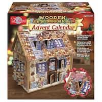 T.S. Shure Gingerbread Deluxe Wooden Advent Calendar