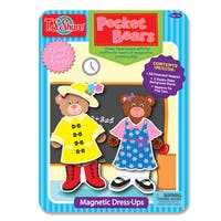 T.S. Shure Pocket Bears Dress-Ups Magnetic Tin Playset