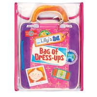 Lily's Bag of Dress-Ups Wooden Magnetic Doll and Book