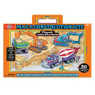 T.S. Shure Construction Magnetic Playboard and Puzzle