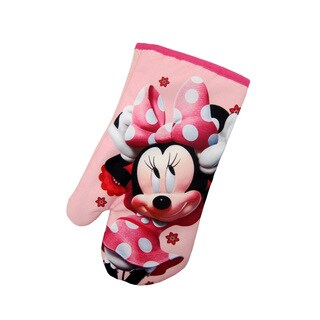 Disney Junior Minnie Mouse 100% Polyester Pink Oven Mitt