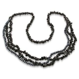 Piatella ladies CZ Cluster Necklace in 4 Colors