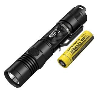 NITECORE MH12GT Multitask Hybrid 1000 Lumen Long Throw USB Rechargeable Flashlight