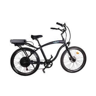 Wave Electric Bike Beach Cruiser - Satin Black