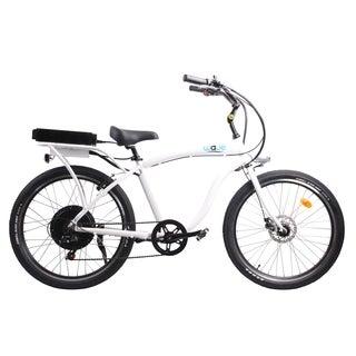 Wave Electric Bike Folding Bike - White