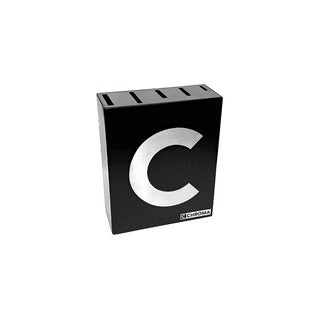 Chroma Knife Block - Black