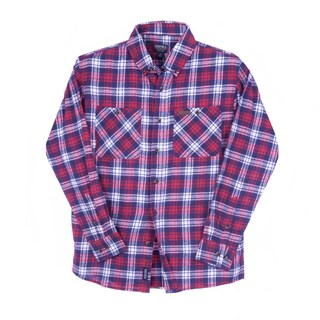 Smith's Workwear Full Swing Cotton Flannel Button Down Shirt