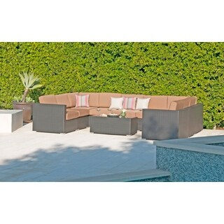 10pc Sonoma Resin Wicker Outdoor Patio Furniture Sectional.