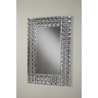 Best Quality Furniture Rectangular Crystal Wall Mirror
