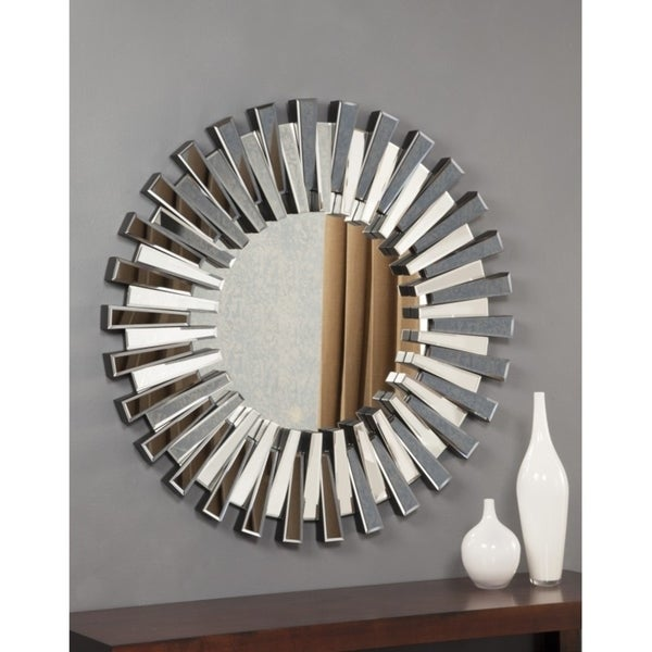 Best Quality Furniture Round Sunburst Wall Mirror Free Shipping Today 17697964