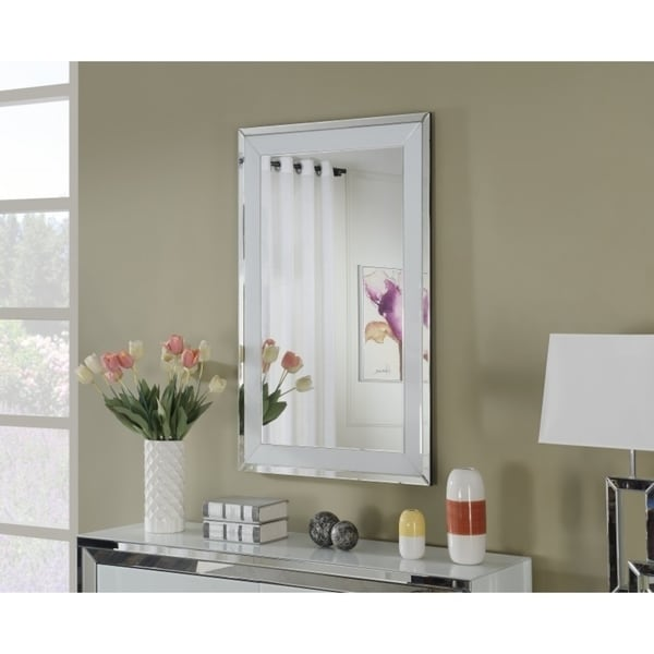 Best Quality Furniture Rectangular Wall Mirror with Trim