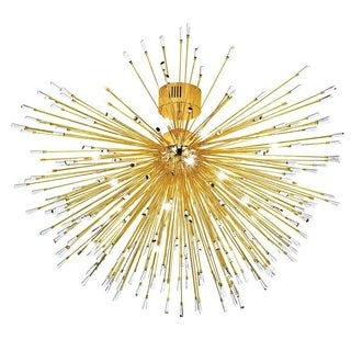 Eglo Vivaldo Ceiling Light with Gold Plated Finish and Crystal Spheres