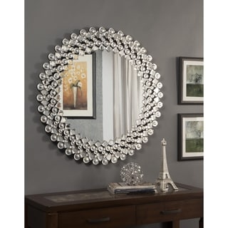 Best Quality Furniture Circular Crystal Wall Mirror