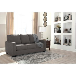 Signature Design by Ashley Zeb Charcoal Full Sofa Sleeper (As Is Item)