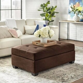 angelo:HOME Lucent Storage Ottoman