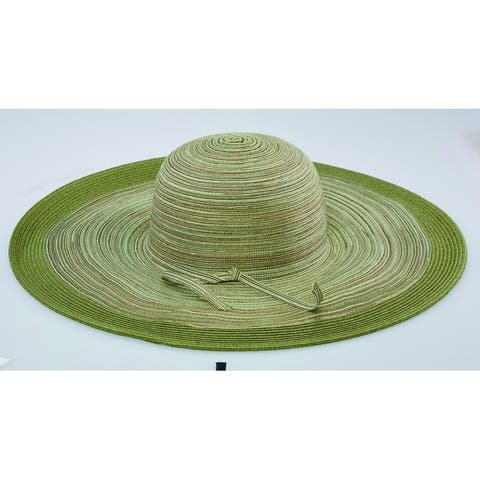 9bc7d8fbe1e2bc San Diego Hat Company/Four Buttons Collection/Large Brim Floppy - sage