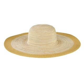 San Diego Hat Company/Four Buttons Collection/Large Brim Floppy - tan