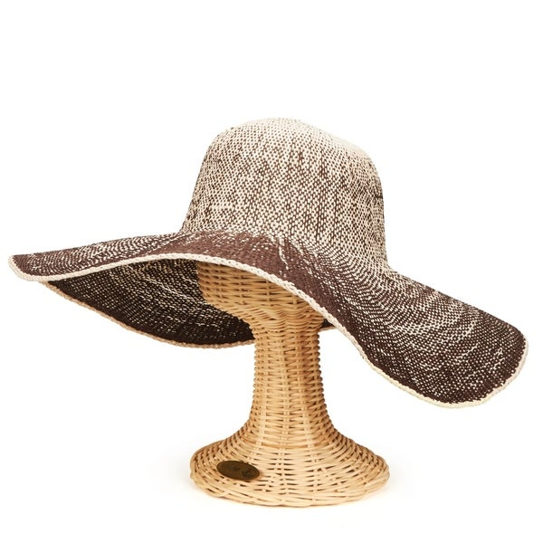 Shop San Diego Hat Company Four Buttons Collection Floppy - brown - Free  Shipping On Orders Over  45 - Overstock.com - 17698170 c4f3b98ae5df