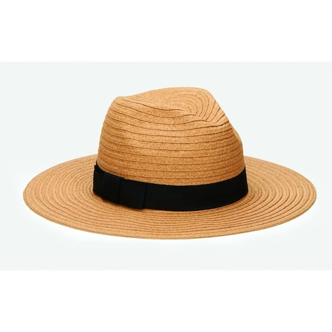 San Diego Hat Company/Four Buttons Collection/Fedora w/ bow- tobacco
