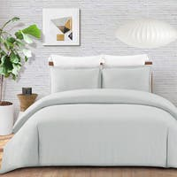 Whitney Cotton Percale Duvet Cover Set