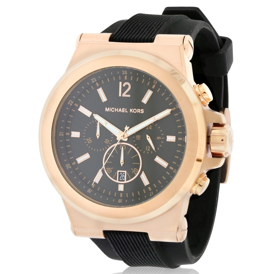Michael Kors Chronograph Silicone male Watch MK8184, Wome...