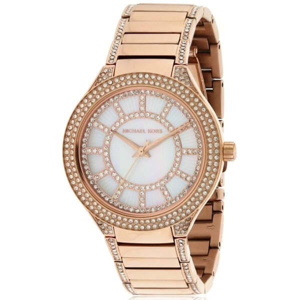 83d1881ac5a4 Shop Michael Kors Kerry Ladies Watch - Free Shipping Today - Overstock -  17698304