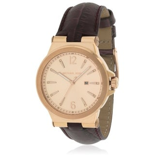 Michael Kors Dylan Leather Ladies Watch MK2602