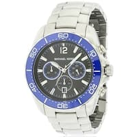 346fb75f9777 Shop Michael Kors Jetmaster Chronograph Stainless Steel male Watch ...