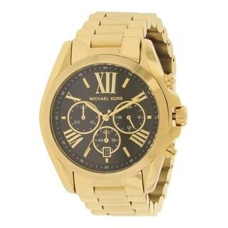 Michael Kors Bradshaw Gold-Tone Chronograph Ladies Watch MK5739