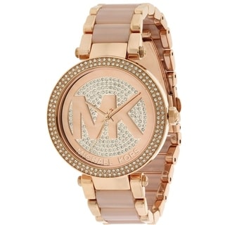 Michael Kors Parker Rose Gold-Tone Ladies Watch MK6176