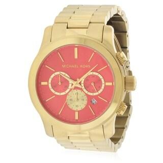 Michael Kors Runway Gold-Tone Chronograph Ladies Watch MK5930