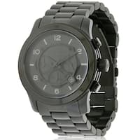 Michael Kors Black Ion Plated male Watch