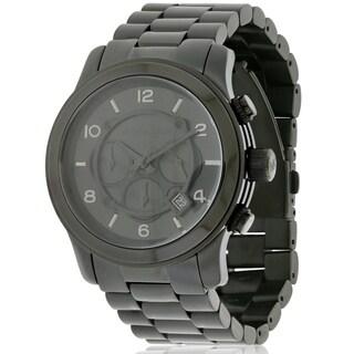 Michael Kors Black Ion Plated male Watch MK8157
