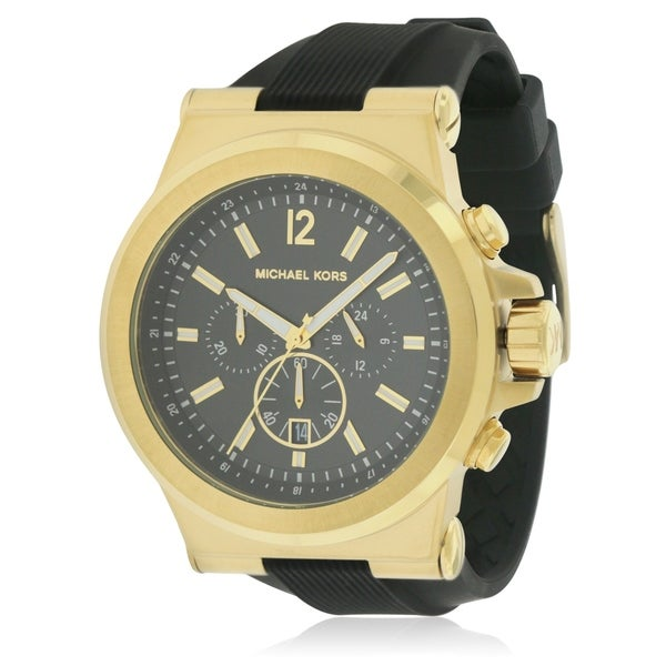 94c24fab1c8c Shop Michael Kors Dylan Silicone Chronograph male Watch - Free Shipping  Today - Overstock - 17698435