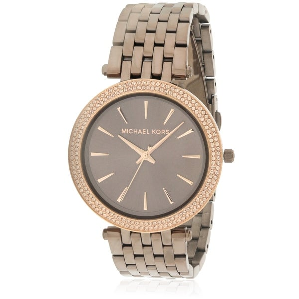 177c53765d9d Shop Michael Kors Darci Sable Stainless Steel Ladies Watch - Free Shipping  Today - Overstock - 17698438