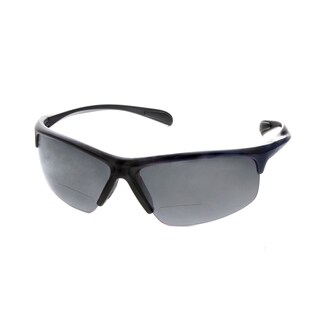 Hot Optix Men's Sport Wrap Sunglass Readers