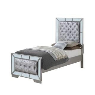LYKE Home Wynter Mirror Trim Accent Twin Bed