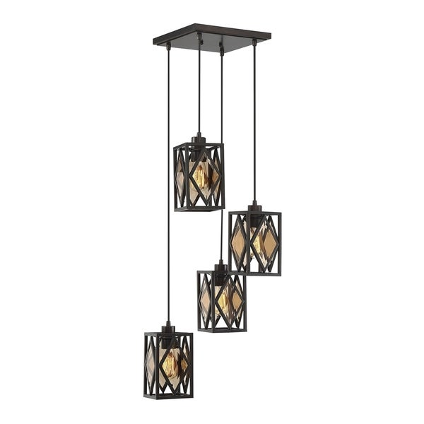 Savoy House Putman 4-light Chandelier With English Bronze Finish