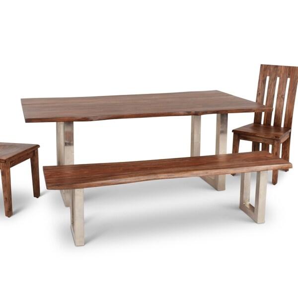 Greyson Living Rania Seesham Wood 71-inch Dining Table