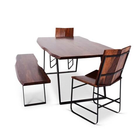 Greyson Living Barth Sheesham Wood Dining Set