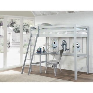 Hillsdale Caspian Twin Study Loft, Gray