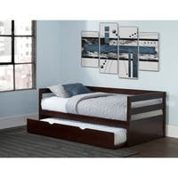 Hillsdale Caspian Daybed With Trundle, Chocolate