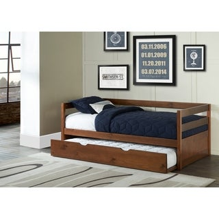 Hillsdale Caspian Daybed With Trundle, Walnut