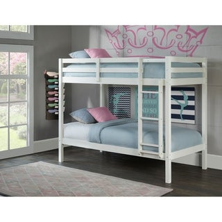 Hillsdale Caspian Twin Over Twin Bunk, White