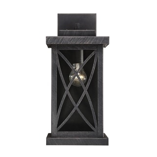 Norwalk Outdoor Wall Lantern Brushed Bronze