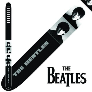 "Perris 2.5"" Vegan Friendly Vinyl Licensed The Beatles A Hard Days Night Guitar Strap Adjustable From 44.5"" to 53"""