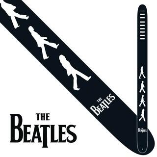 "Perris 2.5"" Vegan Friendly Vinyl Licensed The Beatles Abbey Road Guitar Strap Adjustable From 39"" to 58"""
