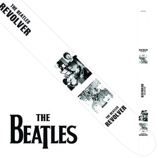 "Perris 2.5"" Vegan Friendly Vinyl Licensed The Beatles Revolver Guitar Strap Adjustable From 39"" to 58"""