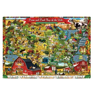 T.S. Shure Farm and Food Magnetic Playboard and Puzzle